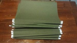 "50 - 15"" file cabinet folders for Sale in Austin, TX"