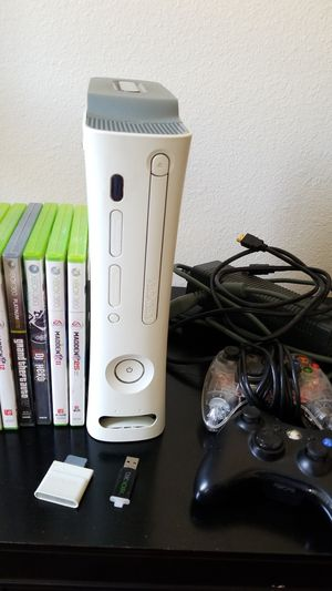 XBox 360 w/games for Sale in National City, CA