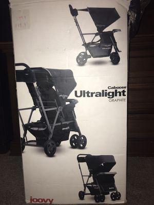 Joovy Ultralight Caboose double stroller for Sale in Pompano Beach, FL