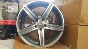 "Mercedes 19"" amg style rims set for Sale in Hayward, CA"