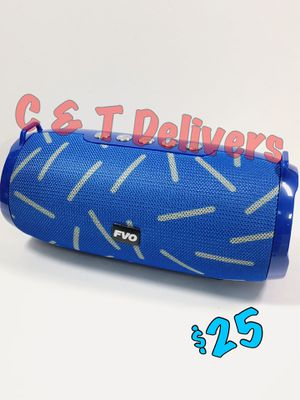 Blue Design • BS-220💥Bluetooth Portable Speaker💥Loud • New In Box for Sale in Los Angeles, CA
