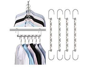 Space Saving Hangers Metal Hanger Magic Cascading Hanger Closet Clothes Organizer for Sale in Phoenix, AZ