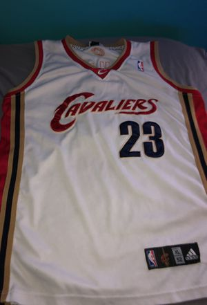 Official authentic Lebron James NBA Cleveland Cavs Basketball Jersey for Sale in Fort Washington, MD