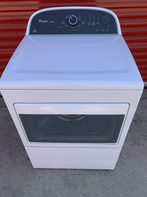 Whirlpool brand HE electric dryer like new for Sale in Moreno Valley, CA