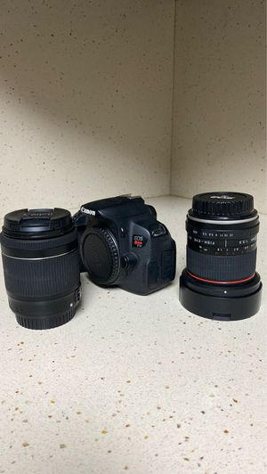 Canon Rebel t5i with Fish eye & 18-55mm lens for Sale in Miami, FL