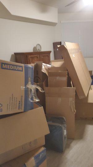 FREE CARDBOARD SHIPPING BOX / MOVING BOX for Sale in San Jose, CA