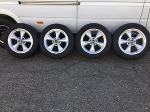 Tires Rims Ford Mustang 17 for Sale in Fresno, CA