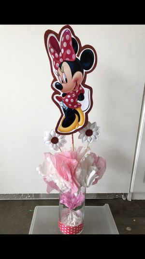 Minnie Mouse Center Pieces for Sale in Chino Hills, CA