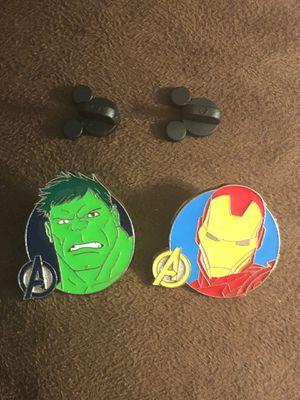 Avengers HULK & IRONMAN Disney Trading Pins for Sale in Davenport, FL