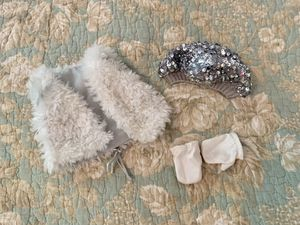 American Girl Doll Fur Vest and Accessories Set for Sale in Denver, NC