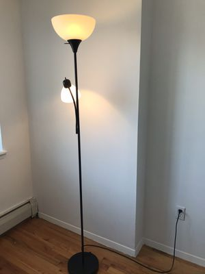 Floor Lamp with two lights for Sale in Queens, NY