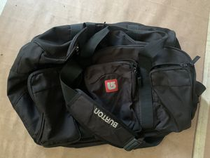 Burton Snowboard Duffle Bag with Boot Compartment Large for Sale in Brooklyn, NY