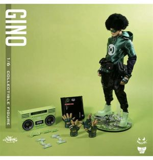 Jt Studio Gino Designer Art Toy with Boombox NIB Limited Edition 100 Exclusive for Sale in Gilbert, AZ