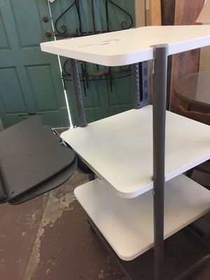 Rolling stand, heavy duty, commercial grade. Vertical kitchen for tiny living, arts, crafts, tools,, fabulous wheels for Sale in Sebring, FL