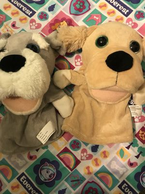 Puppy dog puppets for Sale in Tinley Park, IL