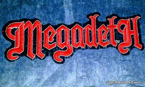 Used, Embriodered Megadeth Patches for Sale for sale  Tacoma, WA