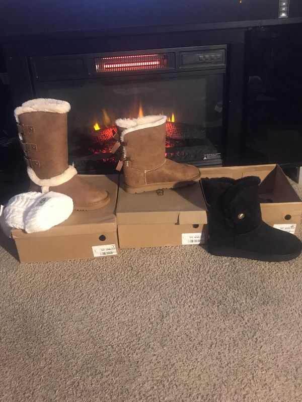 Royalty Presents women ugg boots, Sweatsuit men Timberland boots etc.