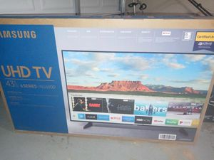 """BRAND NEW 6 SERIES 43"""" SAMSUNG for Sale in Stone Mountain, GA"""