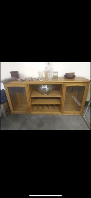 Solid oak Hutch/desk topper must be able to pick up West York for Sale in Thomasville, PA