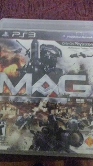 Mag for ps3 for Sale in Bakersfield, CA
