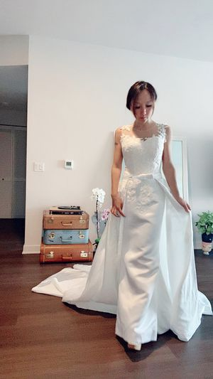 Two Peices Detachable Wedding Dress for Sale in San Diego, CA