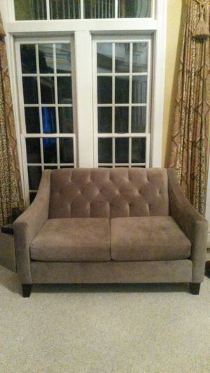 NEW Gorgeous solid grey couch for Sale in Spencerville, MD