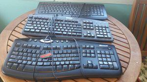 2 Dell, 1 Microsoft keyboard for Sale in Delta, CO
