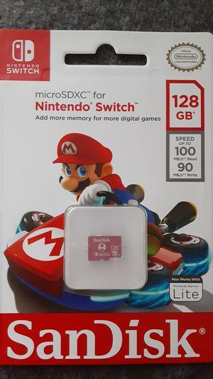 Micro SDXC Nintendo for Sale in Fontana, CA