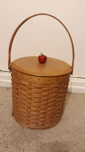 Longaberger Handcrafted Apple Basket for Sale in Whittier, CA