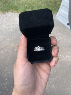 925 Sterling silver promise ring set for Sale in FL, US