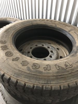 Trailers tires and wheels 285/75r24.5 for Sale in Fort Lauderdale, FL