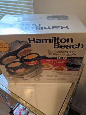 Dual Breakfast Sandwich maker Hamilton Beach for Sale in Loveland, OH