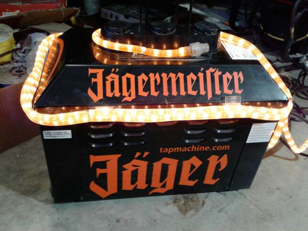JAGER MACHINE!!. ICE COLD SHOTS!.