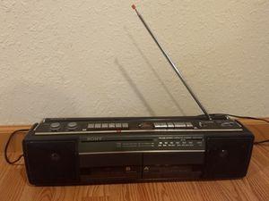 Like New Sony CFS-W301 AM/FM Radio Tape Recorder for Sale in Missoula, MT
