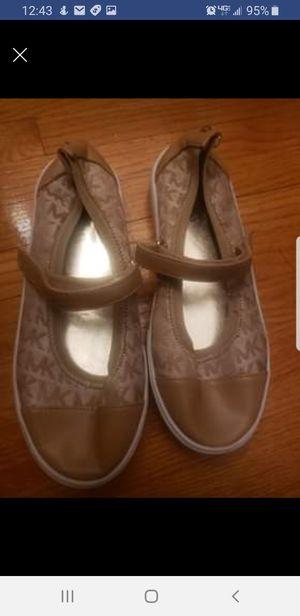 Girls michael Kors sneakers size 2 for Sale in Hamilton Township, NJ