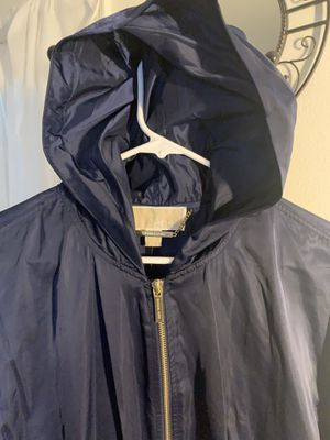 Navy blue. Rain jacket. Original price $160 I Asking $60 Michael Kors for Sale in Redmond, OR