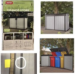 Keter Grande Horizontal Shed for Sale in Stafford,  TX