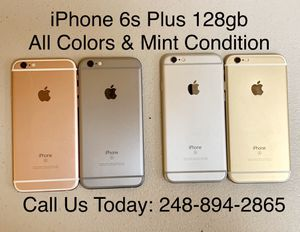 Sale: Unlocked iPhone 6s Plus 128gb Used All Colors Excellent Condition for Sale in Royal Oak, MI