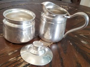 Reed & Barton 4016 & 4026 Silver Soldered Creamer & Sugar Ware for Sale in Hawthorne, CA