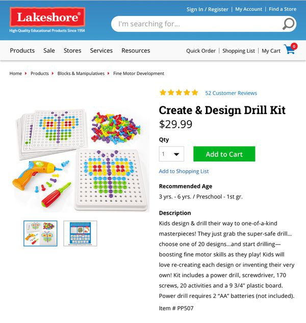 Create And Design Drill Set Brand New For Sale In Coconut Creek Fl