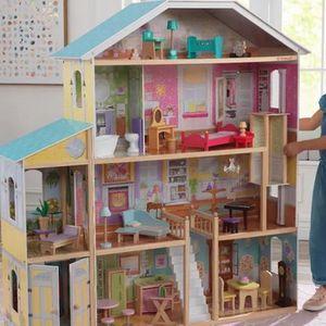 Huge Dollhouse, OBO- Over 4 Ft Tall & Wide W Elevator for Sale in Sarasota, FL