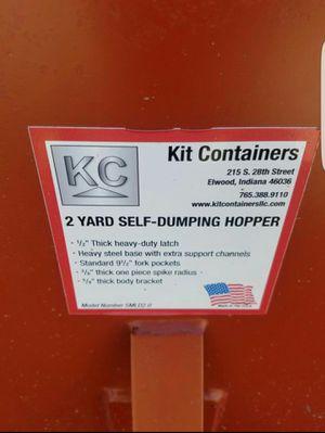 METAL DUMP HOPPER NEW FOR FIORKLIFT BOBCAT for Sale in Arlington, TX