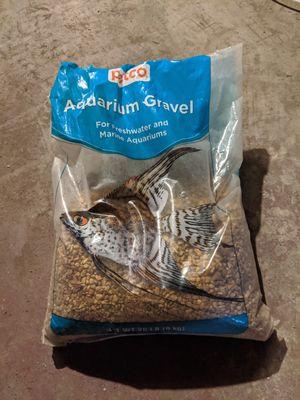 Aquarium Gravel ~10 lbs for Sale in Pittsburgh, PA