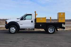 2006 Ford F450 4x4 Flatbed Truck for Sale in Crystal Lake, IL