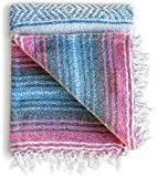 Azure Blush Authentic Hand Woven Blanket for Sale in Los Angeles, CA