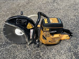 K700 partner concrete saw with new carburetor it works good for Sale in Downers Grove, IL