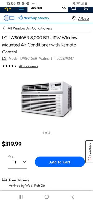 Lg ac unit for Sale in Houston, TX