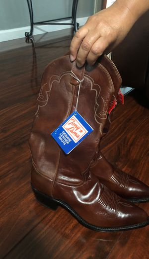 Tony Lama leather boots for Sale in Hayward, CA