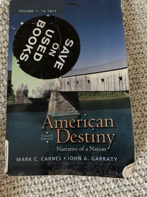 American Destiny narrative of a nation for Sale in San Luis Obispo, CA