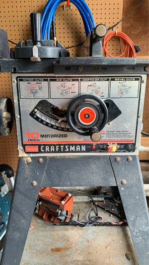 craftsman table saw for Sale in Virginia Beach, VA